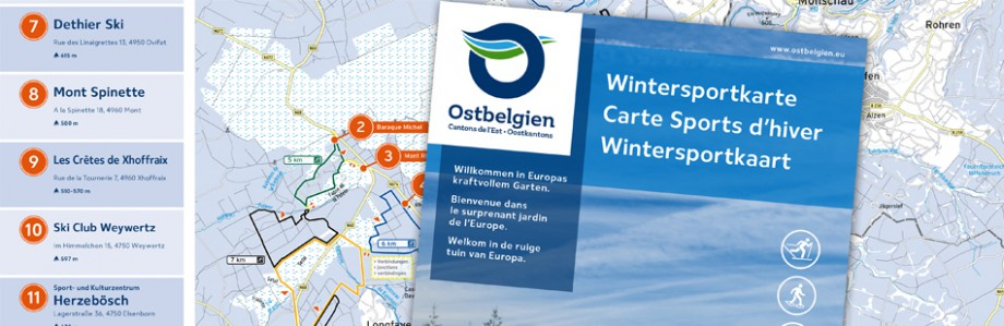 Wintersport in Ostbelgien