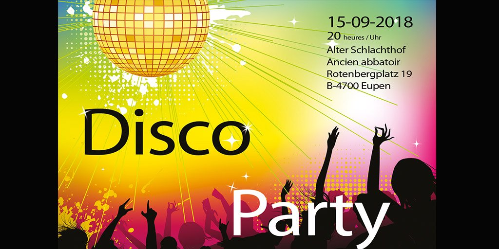 Disco Party - 70er Jahre Party