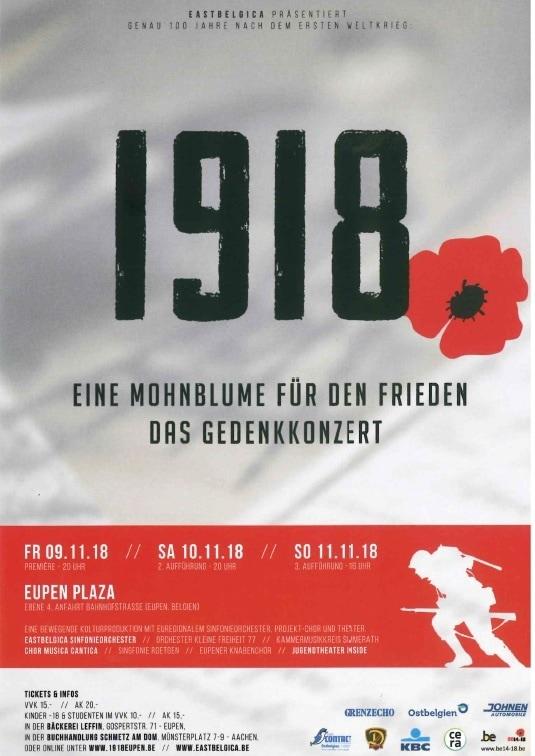1918 - Gedenkveranstaltung zum Waffenstillstand