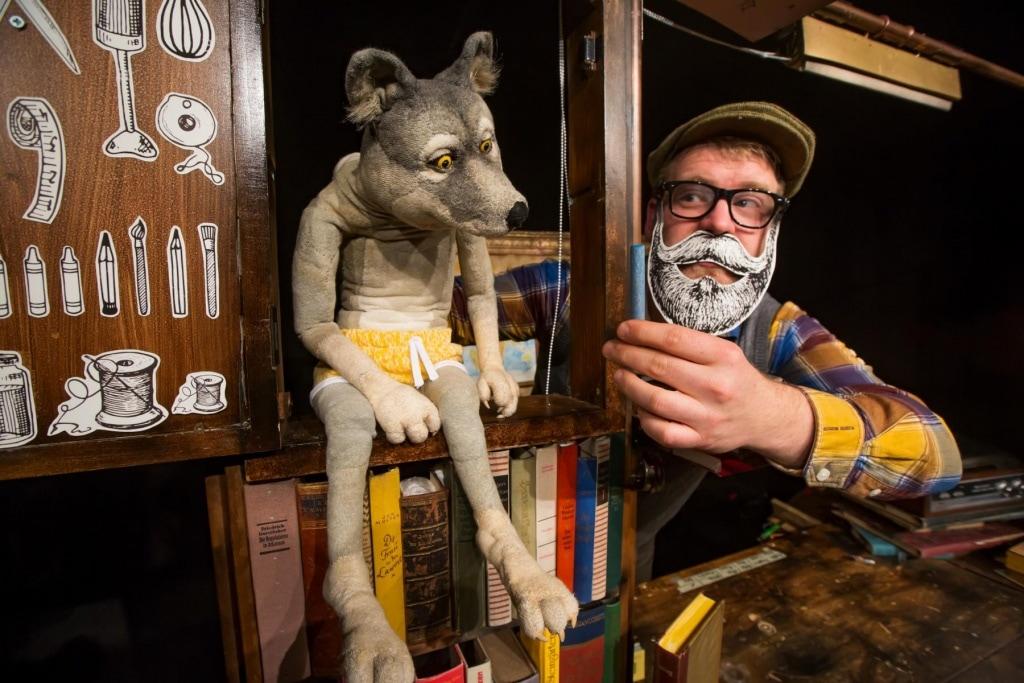 Eupener Puppenspiele Artisanen: Der Wolf und die 7 Geißlein
