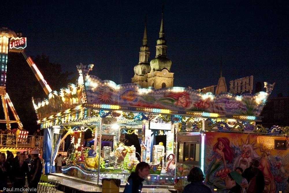 Kermesse à la ville haute