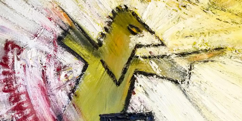 Ausstellung: Manfred Ranz: Malerei nach Literatur