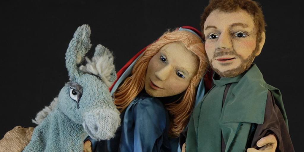 Eupener Puppenspiele: Simon und das Kind in der Krippe