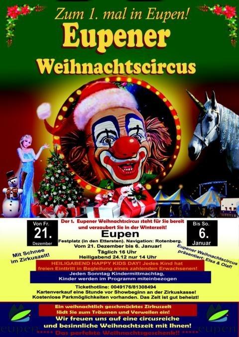 1. Eupener Weihnachtszirkus