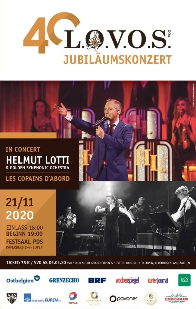 40 Jahre LOVOS mit Helmut LOTTI und les Copains d'abord