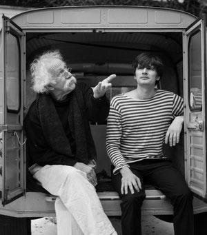 Musikalische Autorenlesung mit Burkard Sondermeier und Igor Kirillov