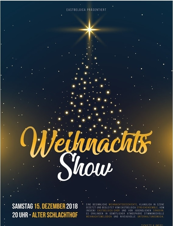 Eastbelgica präsentiert Weihnachtskonzert