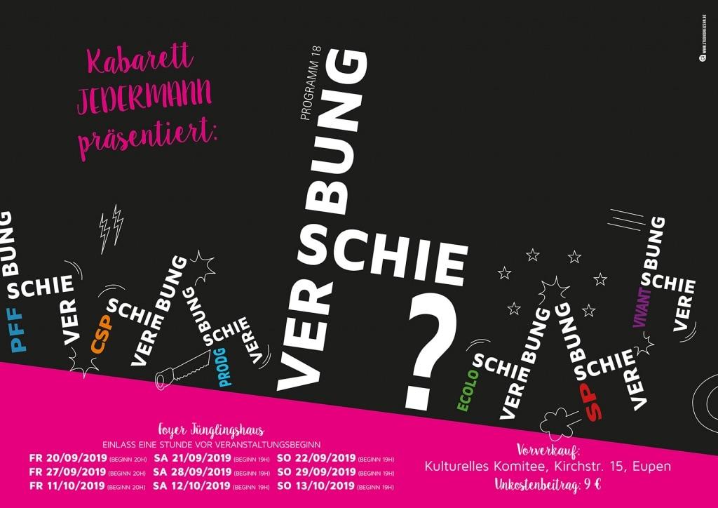Kabarett Jedermann präsentiert: Verschiebung?