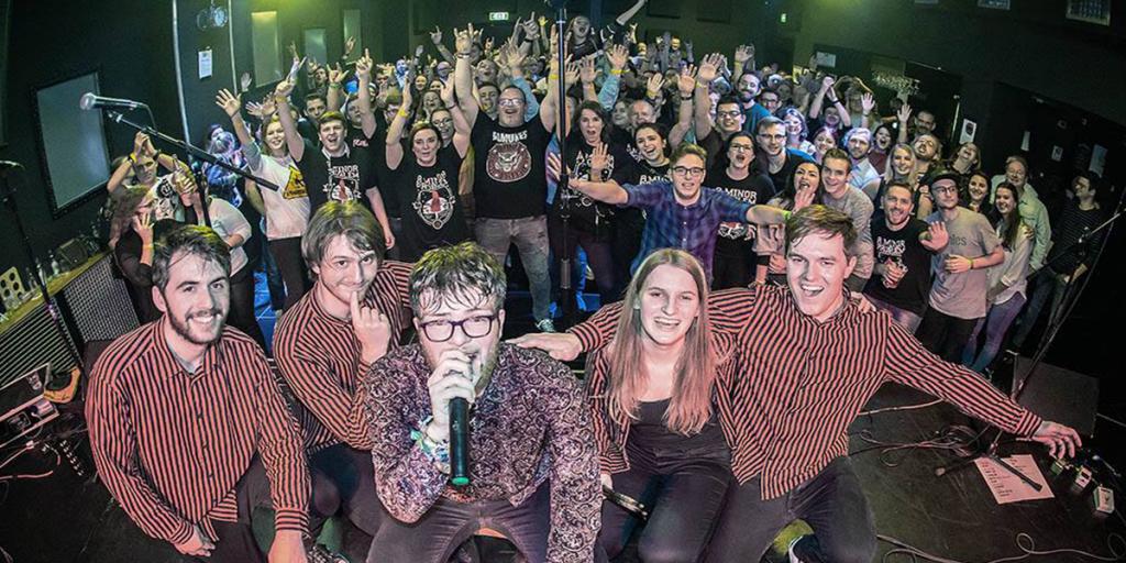Stichting Popmuziek Parkstad präsentiert 3. Euregionaal Popcircuit - Rock