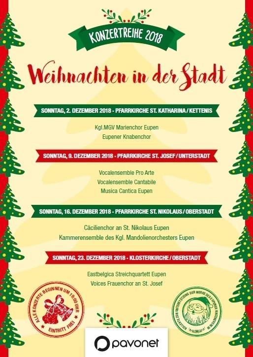 Konzertreihe - Weihnachten in der Stadt
