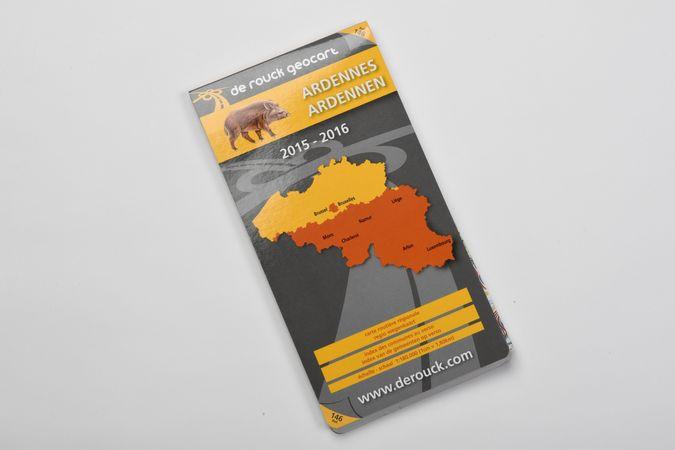 Strassenkarte: Ardennen