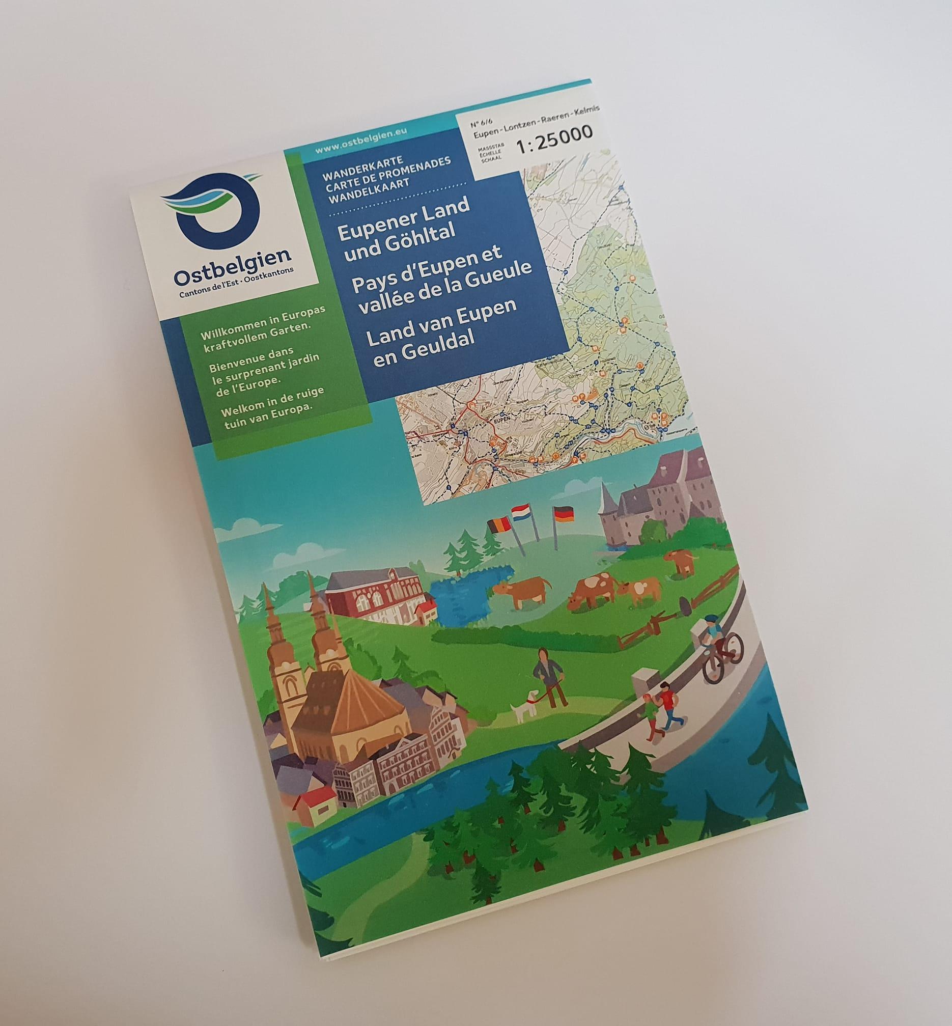 Karte: Eupener Land & Göhltal
