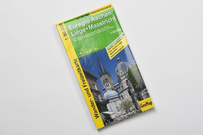 Carte: Euregio Aix-La-Chapelle-Liège-Maastricht