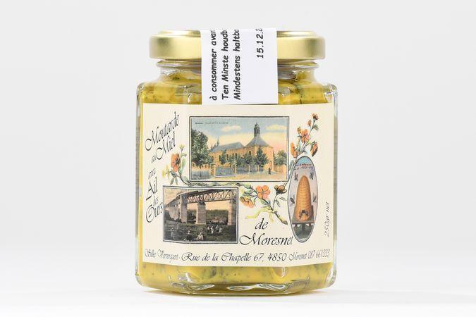 Moutarde au miel et à l'ail de l'ours