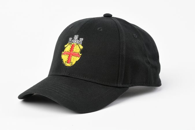 "Kappe mit Stickerei ""Wappen"""
