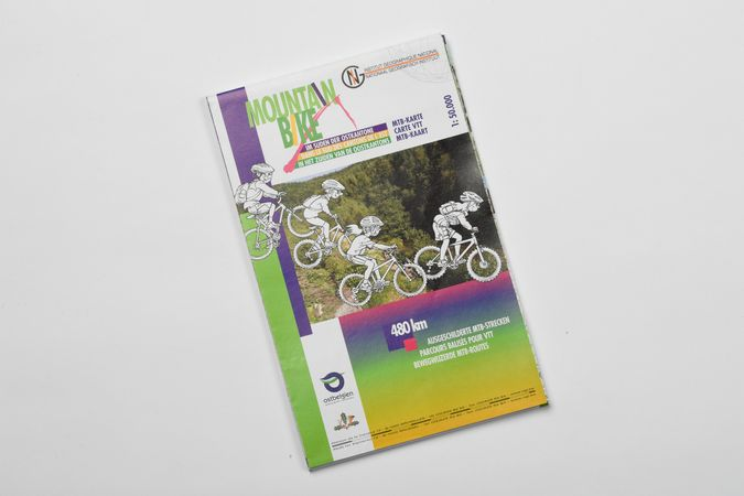Mountainbike Karte (Süden Ostbelgien)