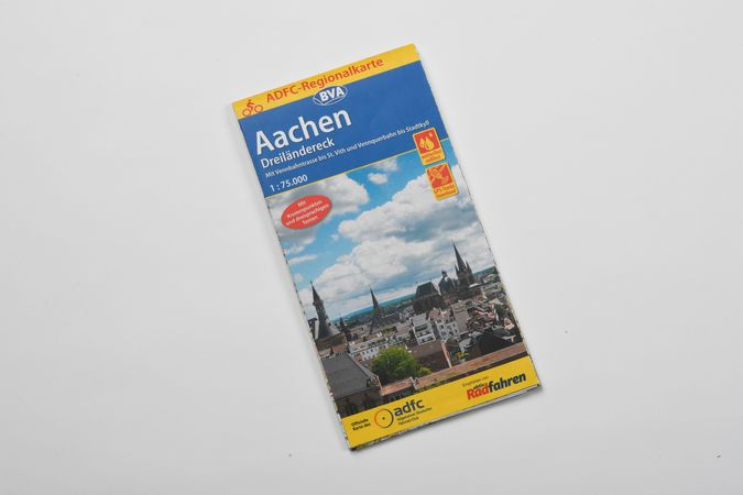 Radkarte Aachen und das Dreiländereck
