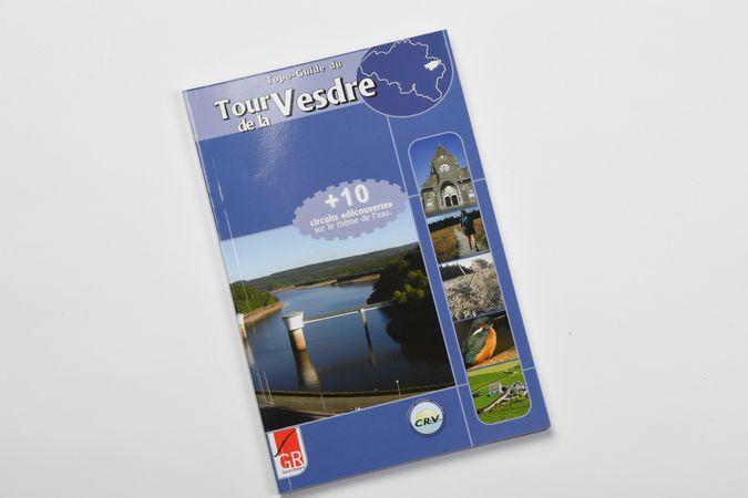 Topo Guide: Tour de la Vesdre