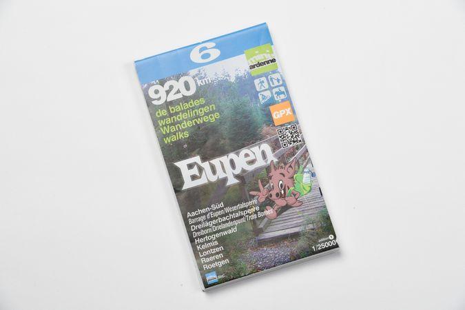 Karte: Eupen Wanderwege 920 km