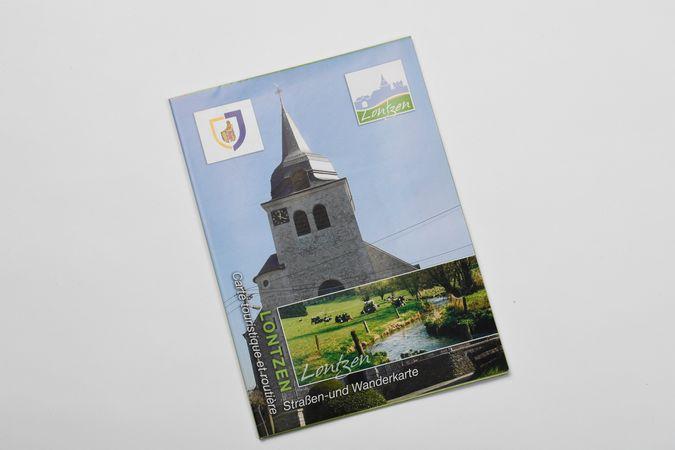 Carte de randonnée Lontzen