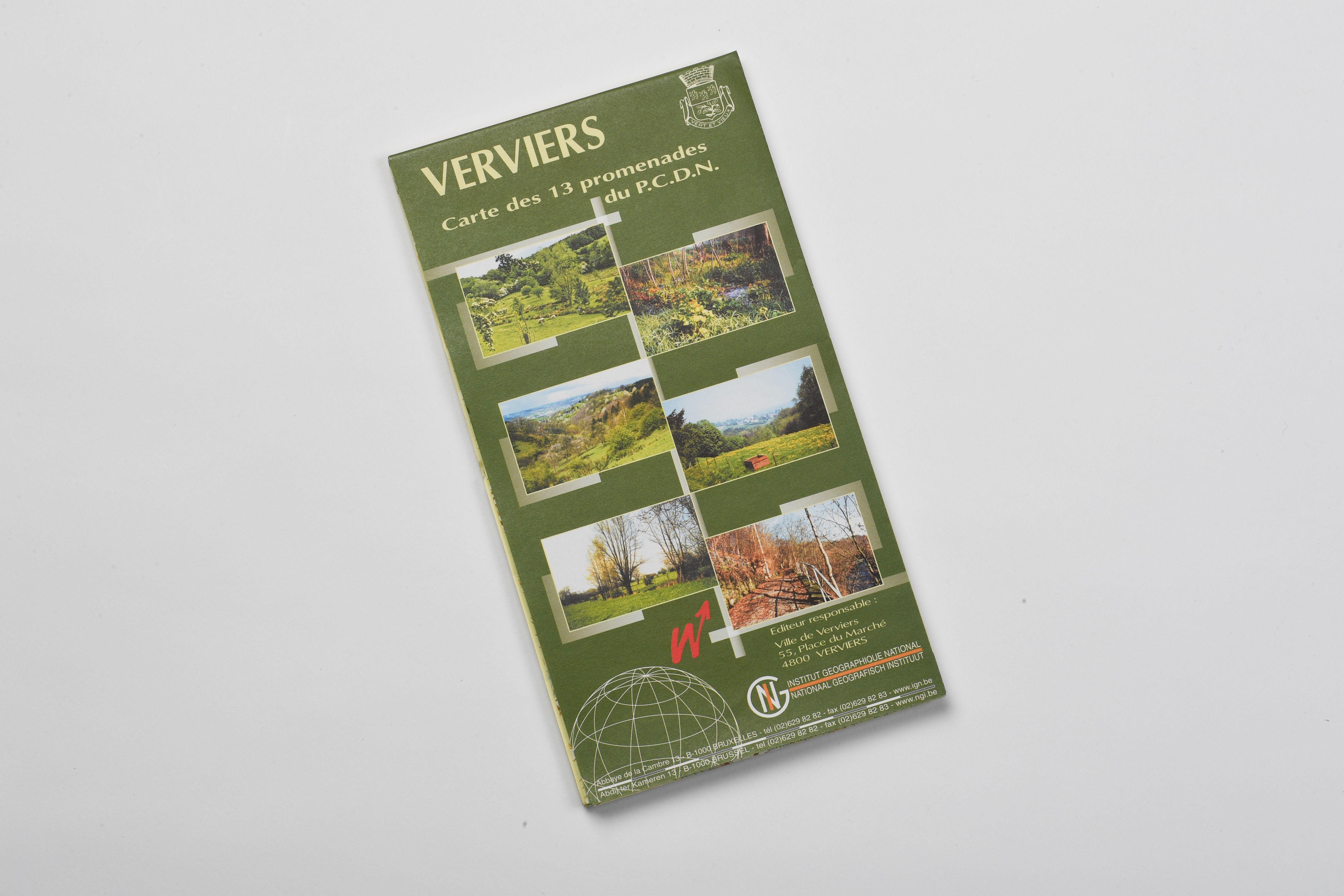 Wanderkarte Verviers