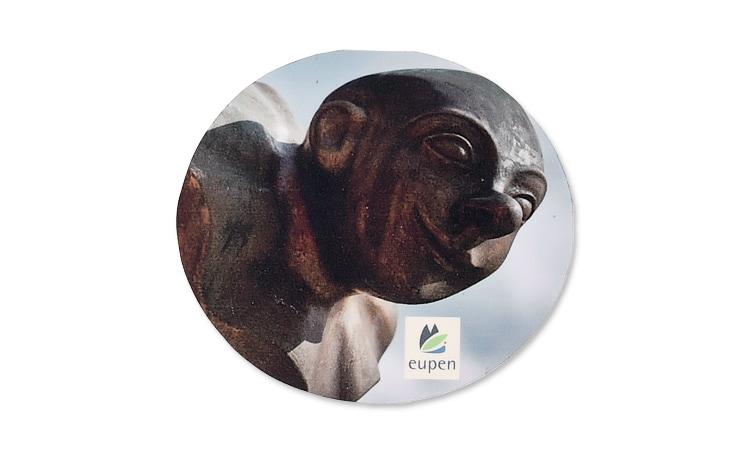 Magnete mit Aufdruck Motiv und Logo Eupen