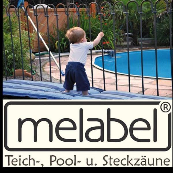 METALL.BE – melabel®-Steckzäune